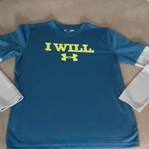 Under Armour youth large long sleeve athletic